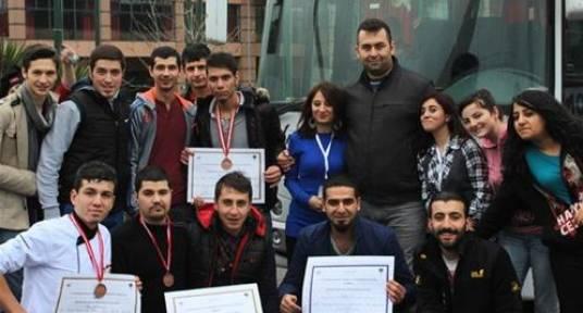 Amasya Üniversitesi öğrencilerinden uluslararası başarı