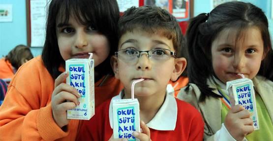 Anaokulu ve ilkokullarda haftada 3 gün süt zamanı!