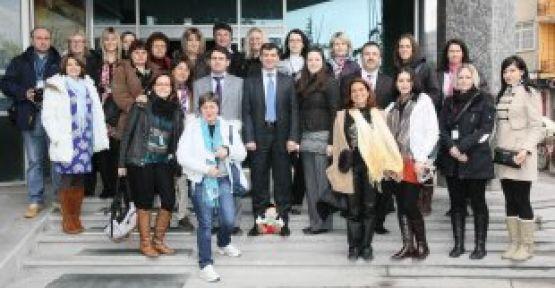 """Avrupalı Eğitimciler """"Avrupa'ya Masal Anlat"""" için Aksaray'da"""