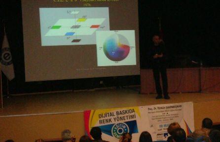 Dijital baskıda renk yönetimi eğitim semineri İzmir'de yapıldı