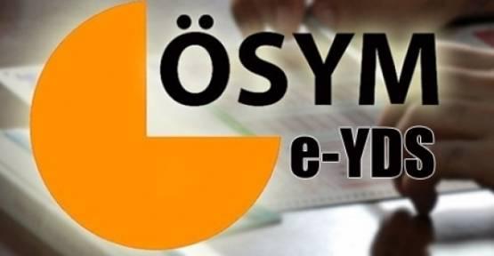 e-YDS başvuruları başlıyor