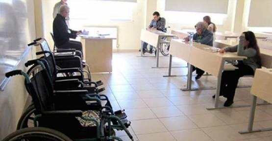 Engelliler için Devlet Kapısını aralayan EKPSS gerçekleştirildi