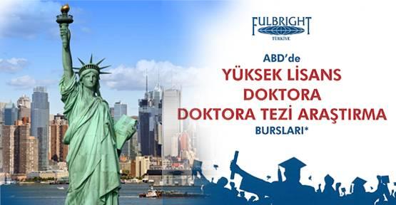 Fulbright ile ABD'de burslu araştırma için geri sayım