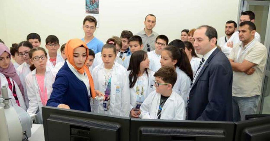 HİTÜ Çocuk Üniversitesi'nde 2016 yaz etkinlikleri başladı.