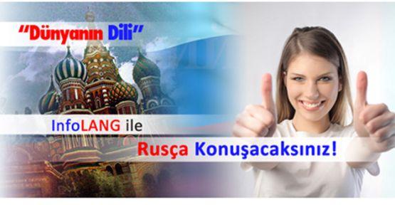 InfoLANG Dil Okulları, şimdi de Rusça konuşturuyor