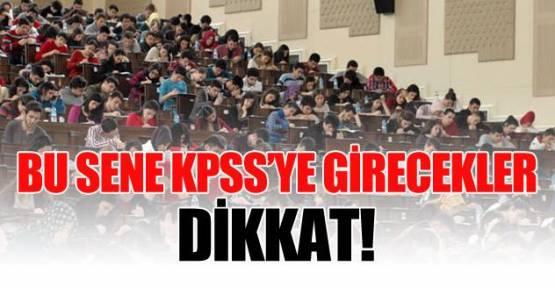 KPSS başvuruları Temmuz'da başlıyor