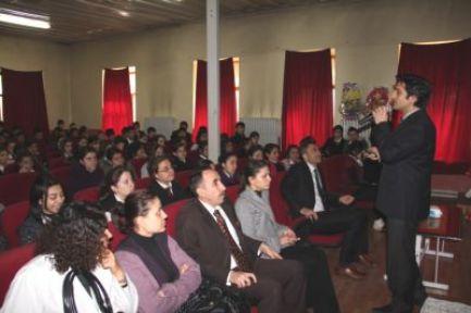 Oltu'da Sınav Stresi, Sınav Kaygısı ve Sınav Motivasyonu Konferansı