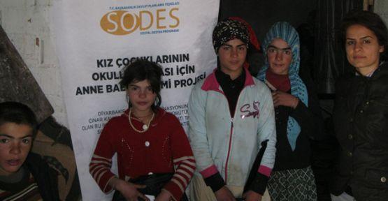 SODES kapsamında 220 öğrenciye eğitim desteği