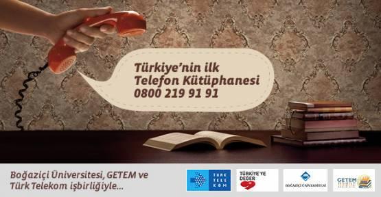 'Telefon Kütüphanesi' projesine Kütüphane Dostu ödülü