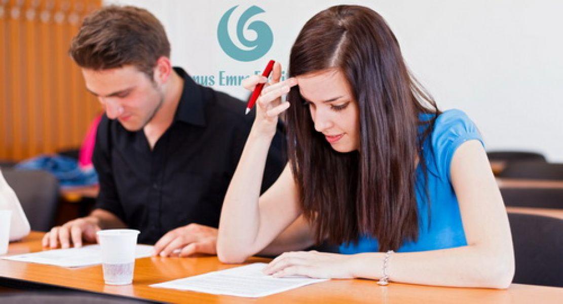 Türkçe Yeterlik Sınavında 3 bin öğrenci ter döktü