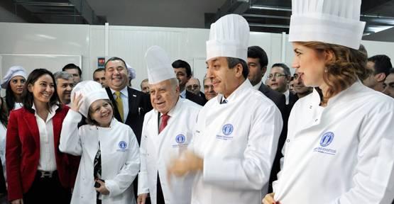 Türkiye'nin en büyük gastronomi mutfağı açıldı