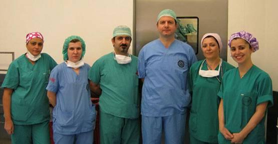 Uludağ Tıp Fakültesi'nde lazerle tedavi başarısı