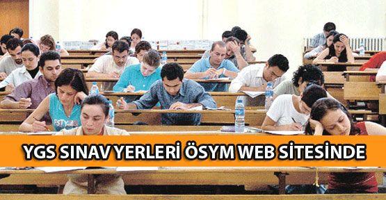 YGS 2012 sınav yerleri ÖSYM web sitesinden yayınlancak