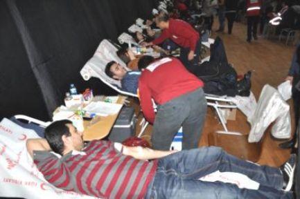 ZKÜ'den kan bağışında Türkiye rekoru